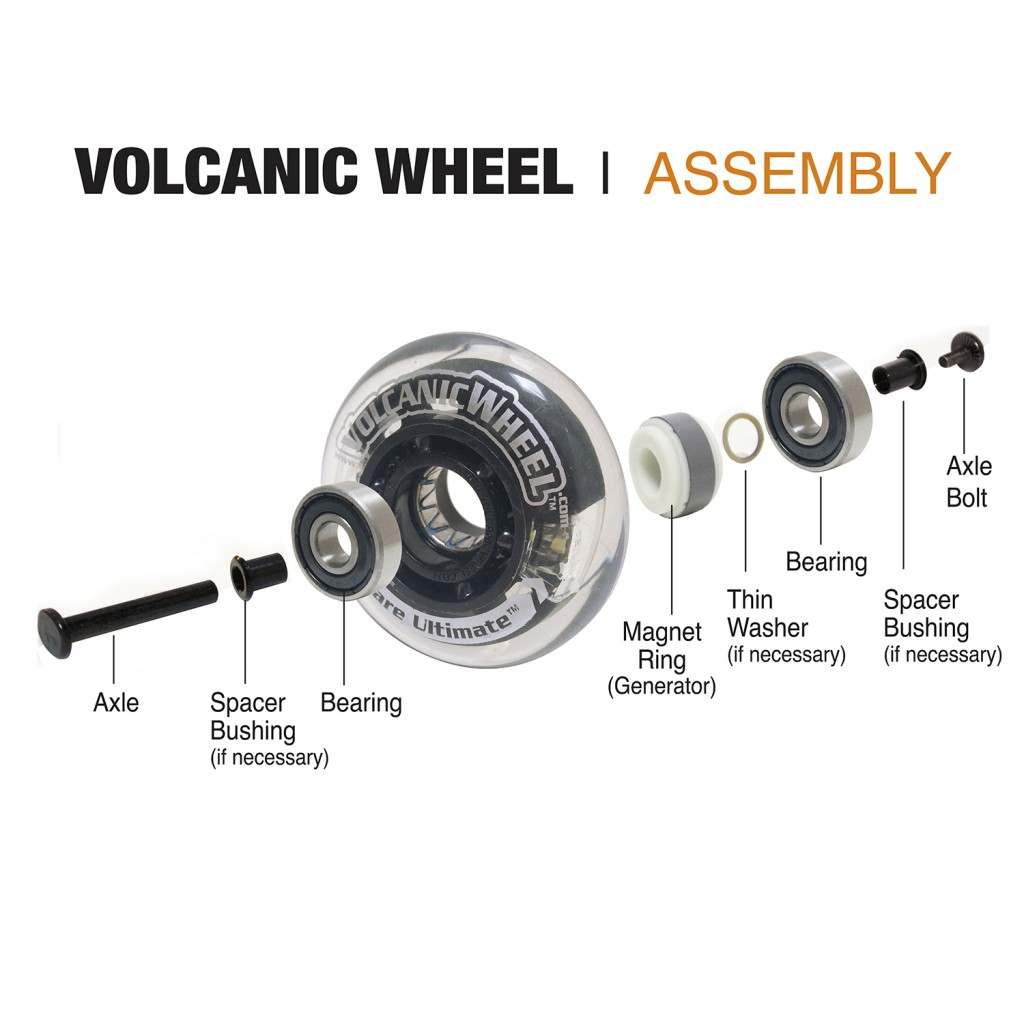 Volcanic Wheel Aseembly