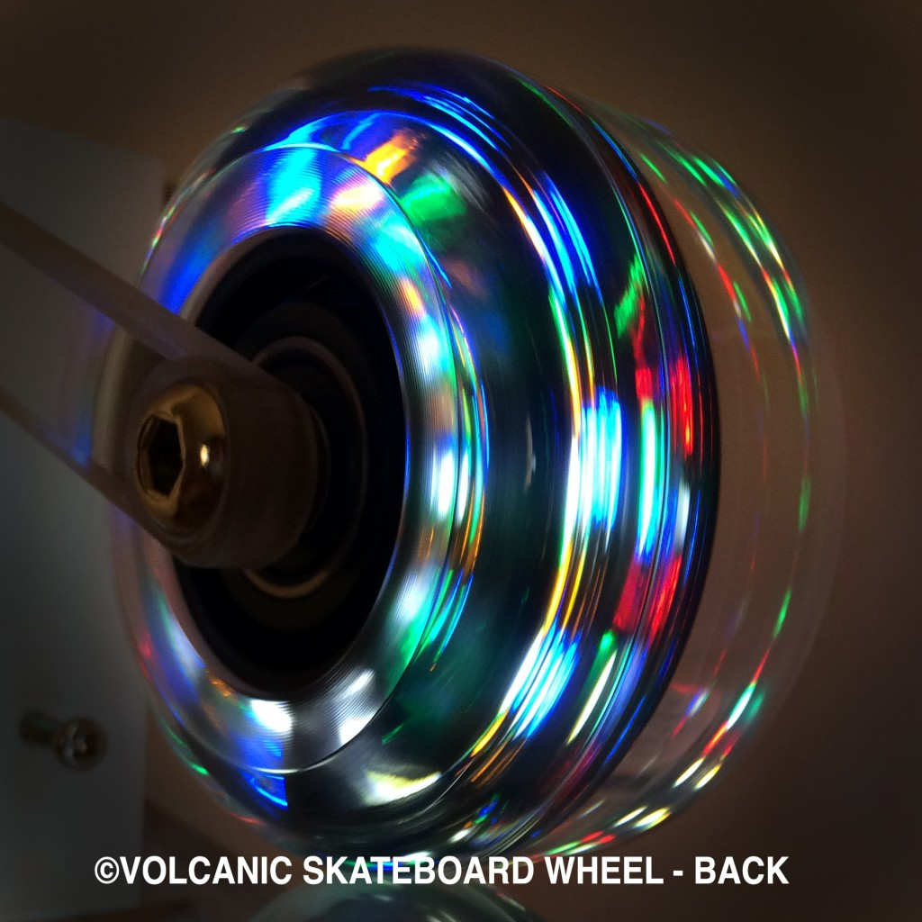 Coming soon! Skateboard Wheel - Back