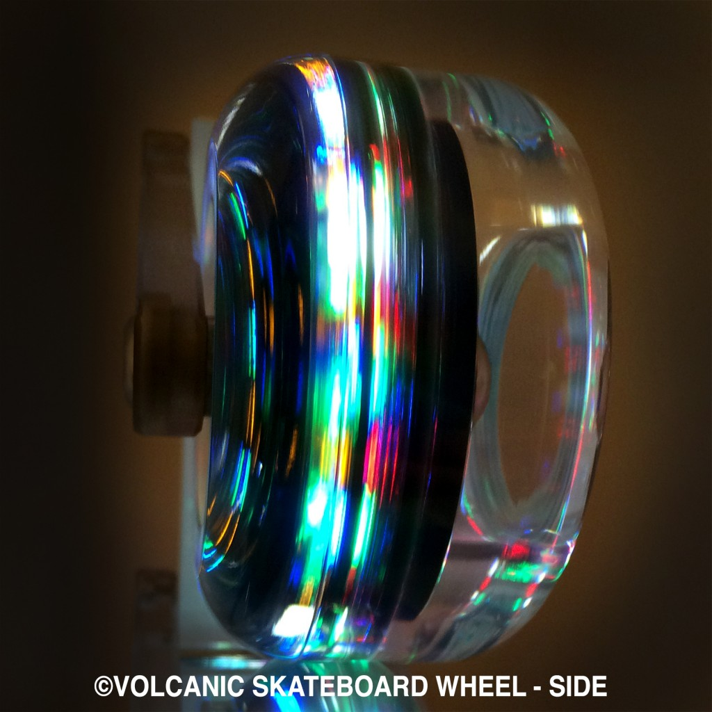 Coming soon! Skateboard Wheel - Side