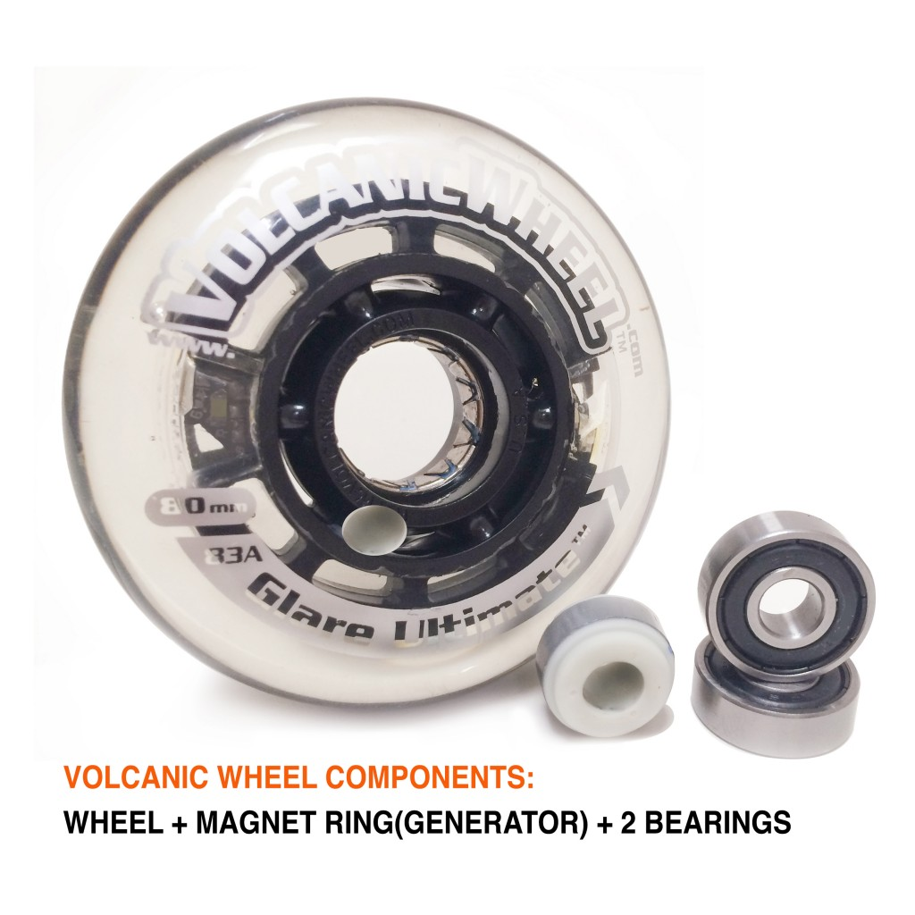 Volcanic Wheel Components